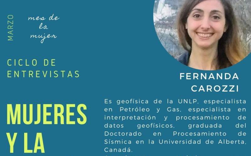 Mujeres y la energía: Fernanda Carozzi