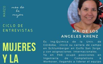 Mujeres y la energía: Ma. de los Ángeles Krenz